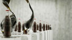 Dancing Coca-Cola Bottles by Korb. This is something amazing i have never seen before!!