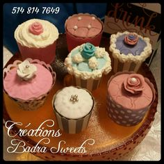 Cupcakes Créations Badra Sweets