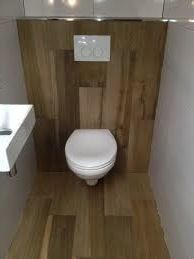 1000 images about verbouwing ideeen on pinterest met bureaus and google - Tegel toilet idee ...