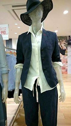 ユニクロ イネス 夏コーデ 2015 シャツ、ジャケット、ワンピ、ハットでお洒落にコーディネート|快適なライフスタイル@生活にちょっぴりスパイスを