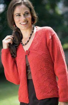 0eecb8b6530cf CARDIGAN PATTERN Sweater Knitting Patterns