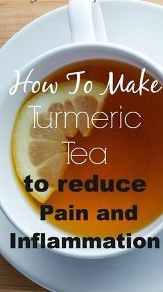 How To Make Turmeric Tea For Pain Relief - http://nifyhealth.com/how-to-make-turmeric-tea-for-pain-relief/