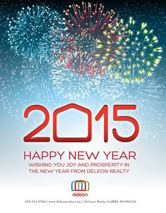 Happy New Year 2015 from DeLeon Realty