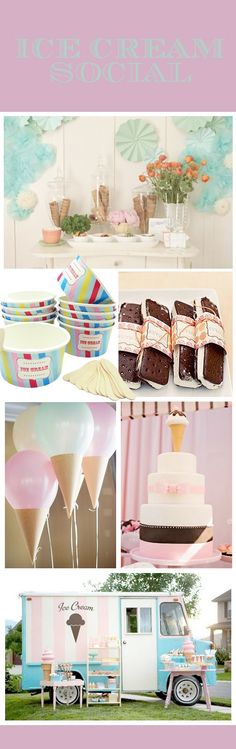 love the balloons with a paper cone