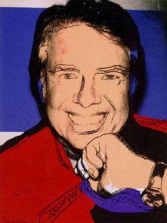 ANDY WARHOL - JIMMY CARTER 2 (F&S II 151) - KUNZT.GALLERY http://www.widewalls.ch/artwork/andy-warhol/jimmy-carter-2-fs-ii-151/ #Print