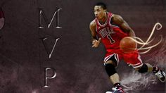 derrick rose chicago bulls basketball full wallpaper hd
