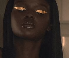 Of Course Black is Beautiful : Photo Makeup Inspo, Makeup Goals, Makeup Inspiration, Beauty Makeup, Eye Makeup, Hair Makeup, Hair Beauty, Brown Skin, Dark Skin