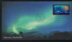 2007 Aurora Australis FDC for sale at Mystic Stamp Company Postage Stamps, Aurora, Mystic, United States, The Unit, U.s. States, Stamps, Northern Lights