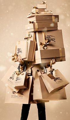 #LUXELIVING- a #burberry christmas