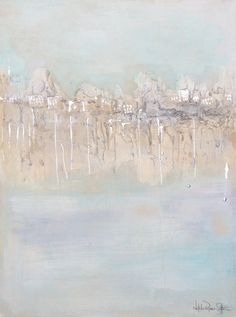 Peter Blake, Creative Portfolio, Beige, Grey, Art Director, Original Art, Abstract Art, Coast, Teal