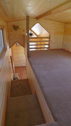N.C. 8' wide stand up loft