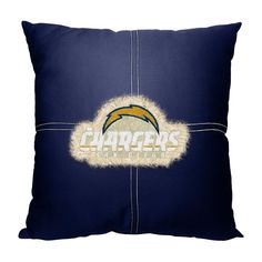 San Diego Chargers NFL Team Letterman Pillow (18x18)