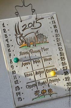 Календарь на 2015 год! - белый,календарь,календарь ручной работы,календарь 2015