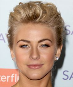 Julianne Hough Hairstyle Updo