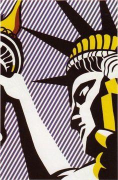 #Roy_Lichenstein-I Love Liberty 1982