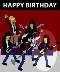 #birthdayramones #birthdayhomersimpson