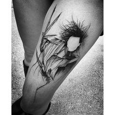 Edward Scissorhands tattoo