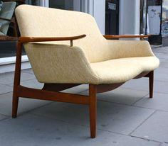 Finn Juhl Two-Seat Sofa NV53 4