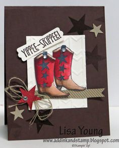 Yippee Skippee Cowgirl by genesis - Cards and Paper Crafts at Splitcoaststampers