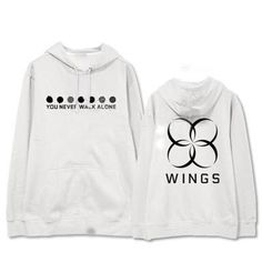 BTS Bangtan Boys You Never Walk Alone Wings Album Thick Pocket Hoodie #BTS #BangtanBoys #YouNeverWalkAlone #Wings #Album #Thick #Pocket #Hoodie #KIDOLSTUFF #KPOP