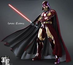 Iron Vader pic.twitter.com/vzw4Ru5pFR #Awesome #StarWars #Ironman #Fanboy