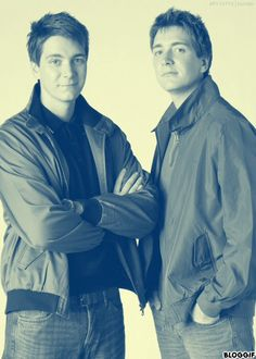 fred and george - phelps twins