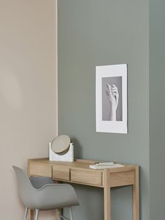 An ideal interior wall color for those seeking solitude