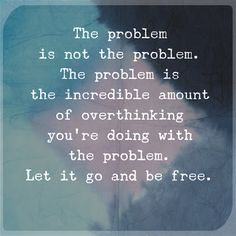 let it go and be free