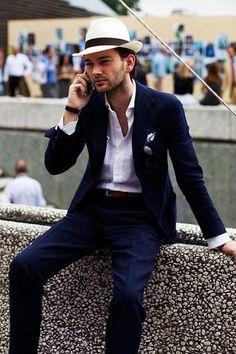 Navy Suits / Wedding Style Inspiration / LANE