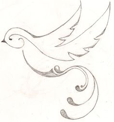 new sketch, traditional sparrow tattoo, original design