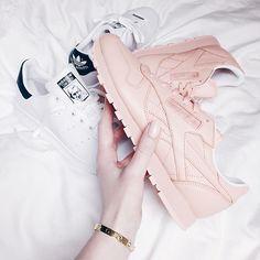 Sneakers <3  #sneakers #reebok #newin #pastels #pink #pinklover #pinkaddicted