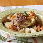 Crockpot Chicken Thighs - in the crockpot right now!