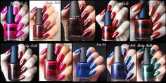 Betty Nails: Top Collections of 2013 - Nail Polish - Purple Professional - Mollon Pro - Kinetics
