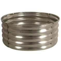Fire Pit Discover 30 in. Round Galvanized Steel Fire Pit - The Home Depot 30 in. Galvanized Round Fire Pit at The Home Depot Home Depot, Diy Fire Pit, Fire Pit Backyard, How To Build A Fire Pit, Building A Fire Pit, Cheap Fire Pit, Backyard Playground, Backyard Patio, Steel Fire Pit Ring