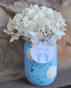 31 Best SHABBY CHIC PAINTED MASON JARS images in 2017