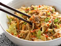 This fast and easy Beef and Cabbage Stir Fry is a filling low carb dinner with big flavor and endless possibilities for customization. Step by step photos.