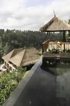 Hanging Gardens Ubdu - indonesia  five star boutique hotel in the jungle