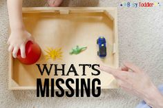 What's Missing is a simple, no-prep game that can be played at home, in restaurants or waiting rooms. This activity is absolutely one you need to be playing