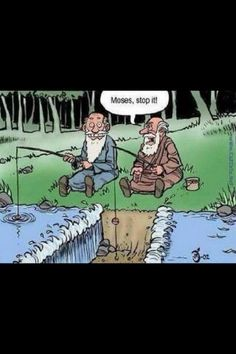 Biblical humor? It's the best. Another reminder that God has a wonderful sense of humor.