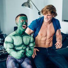 Logan Paul and mini-Hulk