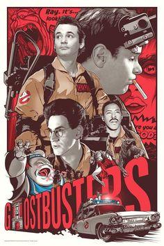 Ghostbusters by Joshua Budich