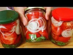Quilling 3d, Summer Salads, Preserves, Cucumber, Mason Jars, The Creator, Canning, Vegetables, Food