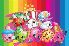 Shopkins Ideas: Shopkins Party Ideas and Printable Coloring pages Shopkins is a plaything or toy manufactured based on the grocery toys, where every Cupcake Toppers, Birthday Cake Toppers, Shopkins Colouring Pages, Coloring Pages, Coloring Books, Illustration Free, Shopkins Characters, Shopkins Cartoon, Shopkins Bday