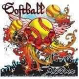 Softball Addict by Mychristianshirts on Etsy