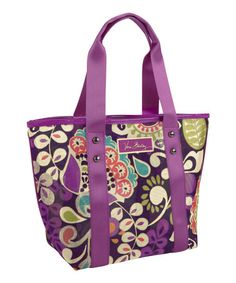 Another great find on #zulily! Plum Crazy Small Mesh Tote #zulilyfinds