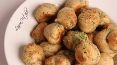 Garlic Knots Recipe - Laura in the Kitchen - Internet Cooking Show Starring Laura Vitale