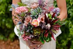 Wedding Bouquet, Bridal Bouquet, Silk Bouquet, Succulent Bouquet, Floral Bouquet, Flower Bouquet, Alternative Bouquet, Keepsake Bouquet by TheFauxBouquets on Etsy https://www.etsy.com/listing/195980457/wedding-bouquet-bridal-bouquet-silk