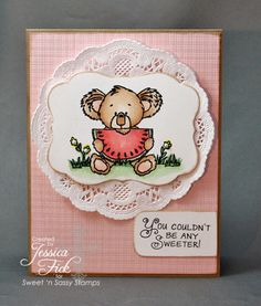 Sweet Kiwi by jessjean - Cards and Paper Crafts at Splitcoaststampers