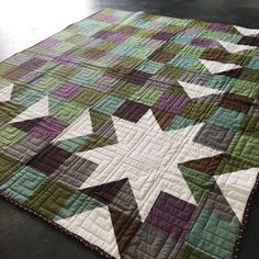 Sawtooth Sunburst Quilt Pattern (3 Years in the Making)