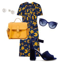 """Untitled #63"" by stinebf on Polyvore featuring Altuzarra, Joie, The Cambridge Satchel Company and Tory Burch"